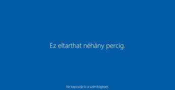 Windows 10 frissítés